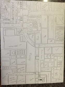 Rogelio Avina's plan for a redesigned CSULB campus. Less candy, more details.